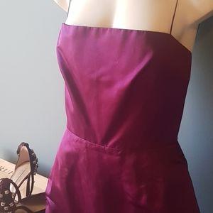 NWT Tahari Purple or Berry Spaghetti Strap Dress